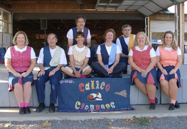 Calico Cloggers at Graves Mountain Apple Festival