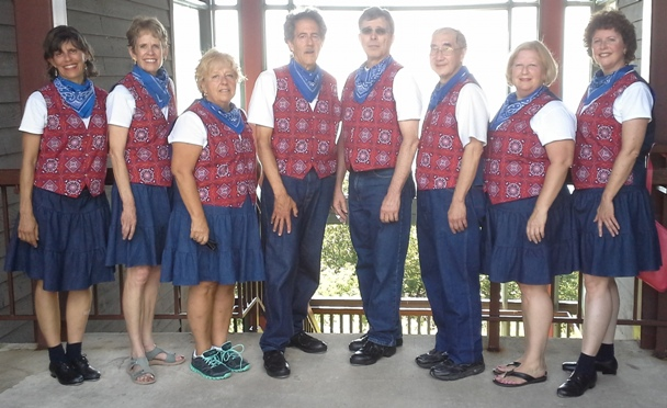 Calico Cloggers at Blackberry Festival