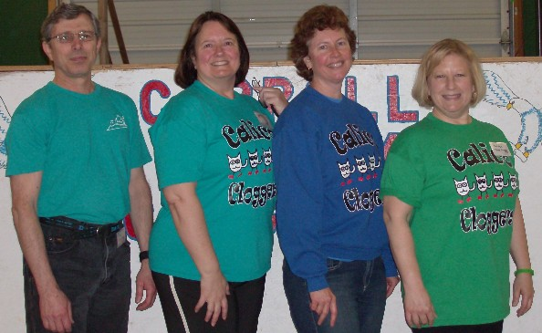 Calico Cloggers at the Mason Disctict Spring Stomp